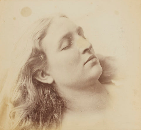 'Sleep' (Mary Rejlander (née Bull)) NPG P2011(63) Portrait Print