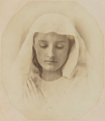 'The Virgin in prayer' NPG P2011(68) Portrait Print