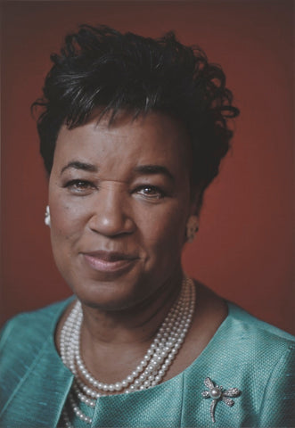 Patricia Janet Scotland, Baroness Scotland of Asthal NPG P2049 Portrait Print
