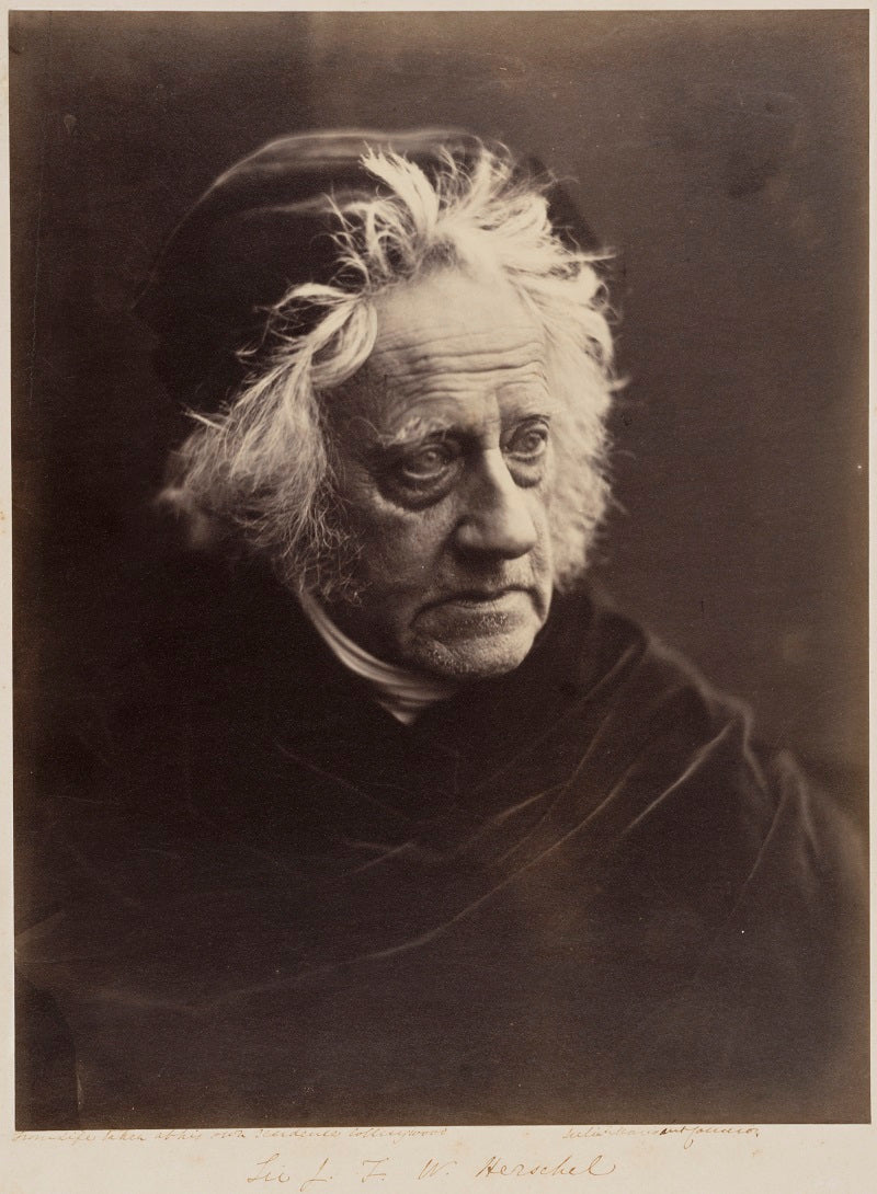 Sir John Frederick William Herschel, 1st BtI NPG P213 Portrait Print