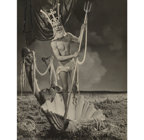 Angus McBean as Neptune NPG P932 Portrait Print