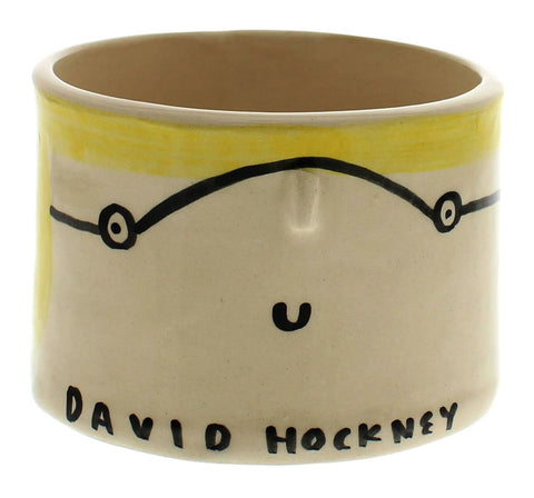 David Hockney Artist Pot