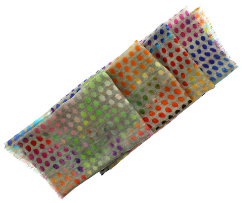 Coloured Dots Scarf