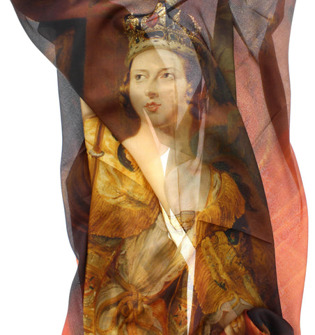 Queen Victoria Coronation Scarf
