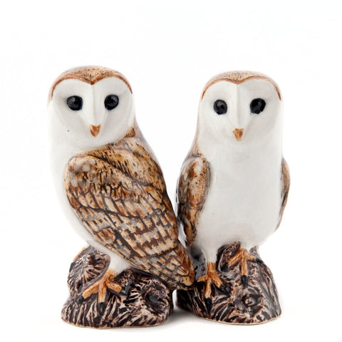 Barn Owl Salt and Pepper Shakers