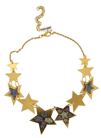 Glitter Stars Necklace