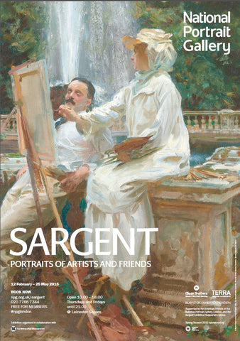 Sargent: Portraits of Artists and Friends Exhibition Poster (2)