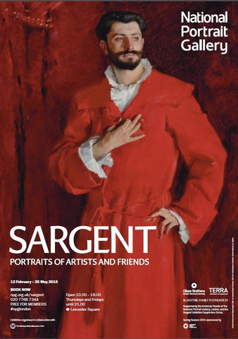 Sargent: Portraits of Artists and Friends Exhibition Poster (1)