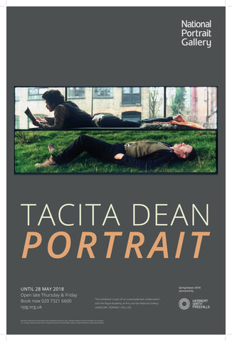 Tacita Dean Portrait Exhibition Poster
