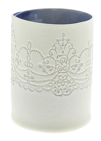 Porcelain Lace Tealight Holder (Small)