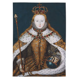 Queen Elizabeth I Cotton Tea Towel
