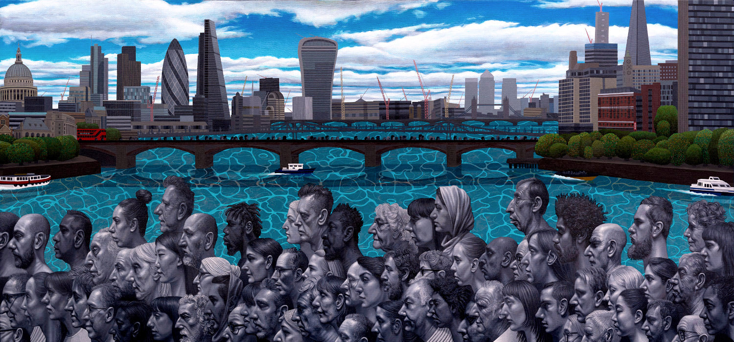 Carl Randall - Waterloo Bridge, London