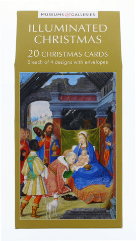 Illuminated Christmas Card 20 Pack