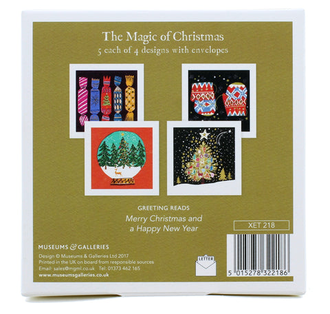Magic of Christmas 20 Pack of Cards