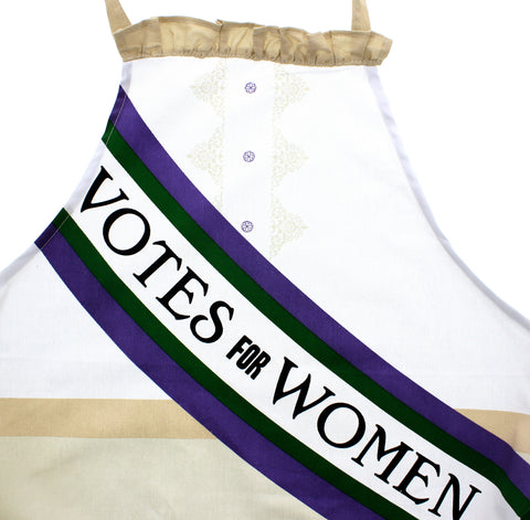 Votes for Women Apron