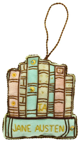 Jane Austen Book Decoration