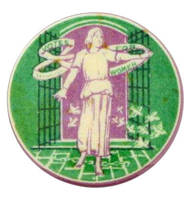 Suffragette Campaign Button Badge