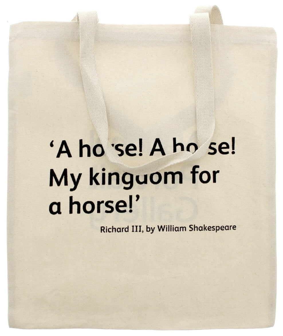 Richard III Quote Tote Bag