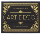 Art Deco Notecards & Envelopes