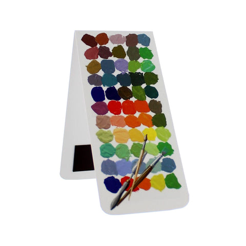 Colour Palette Magnetic Bookmark
