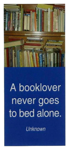 Booklover Quote Magnetic Bookmark