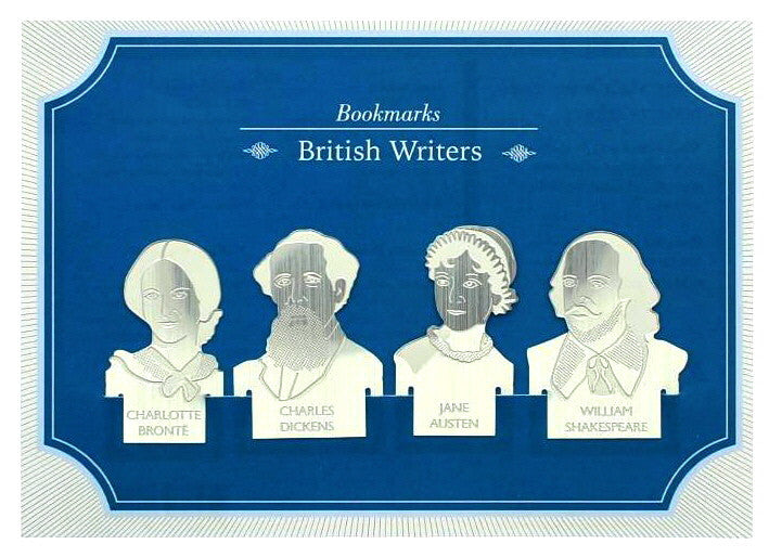 British Writers Bookmarks