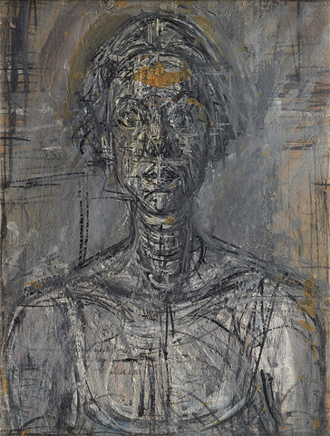 A giclée print of 'Bust of Annette' by Alberto Giacometti