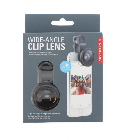 Wide-Angle Clip Lens