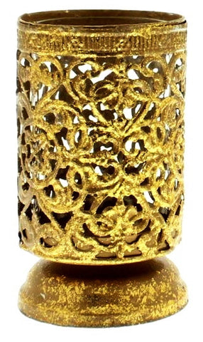 Antique Gold Filigree Lantern