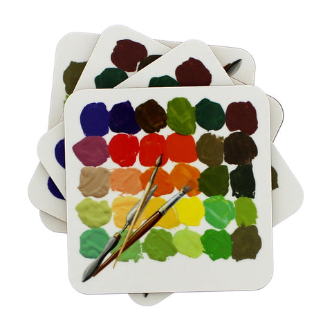 Colour Palette Coasters