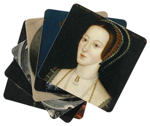 The Six Wives of Henry VIII Coaster Set