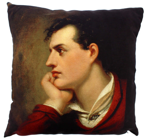 Lord Byron Cushion