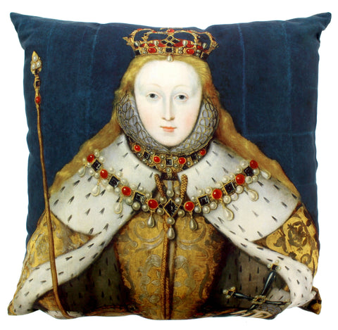 Elizabeth I Coronation Cushion