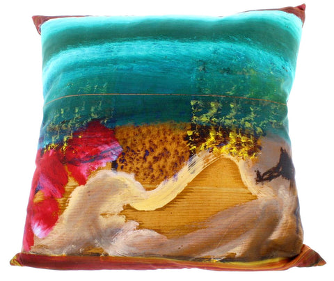 Waking Up In Naples Cushion