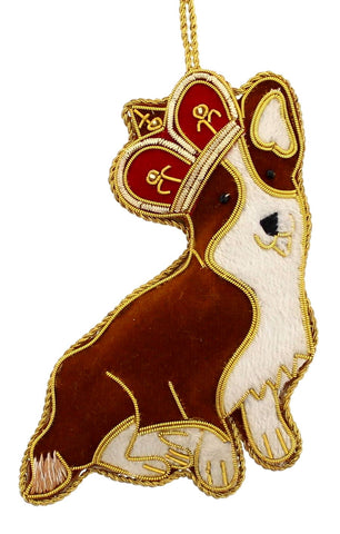 The Queen's Corgi Decoration