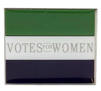 Votes For Women Flag Enamel Lapel Pin