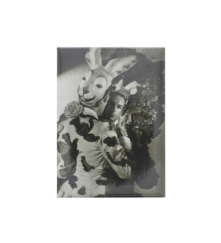 Cecil Beaton in his Fête Champêtre Rabbit Costume Fridge Magnet