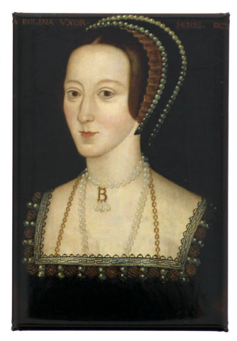 Anne Boleyn Fridge Magnet
