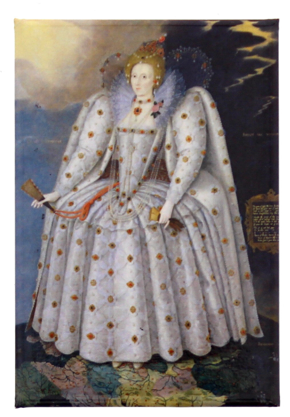 Elizabeth I Fridge Magnet