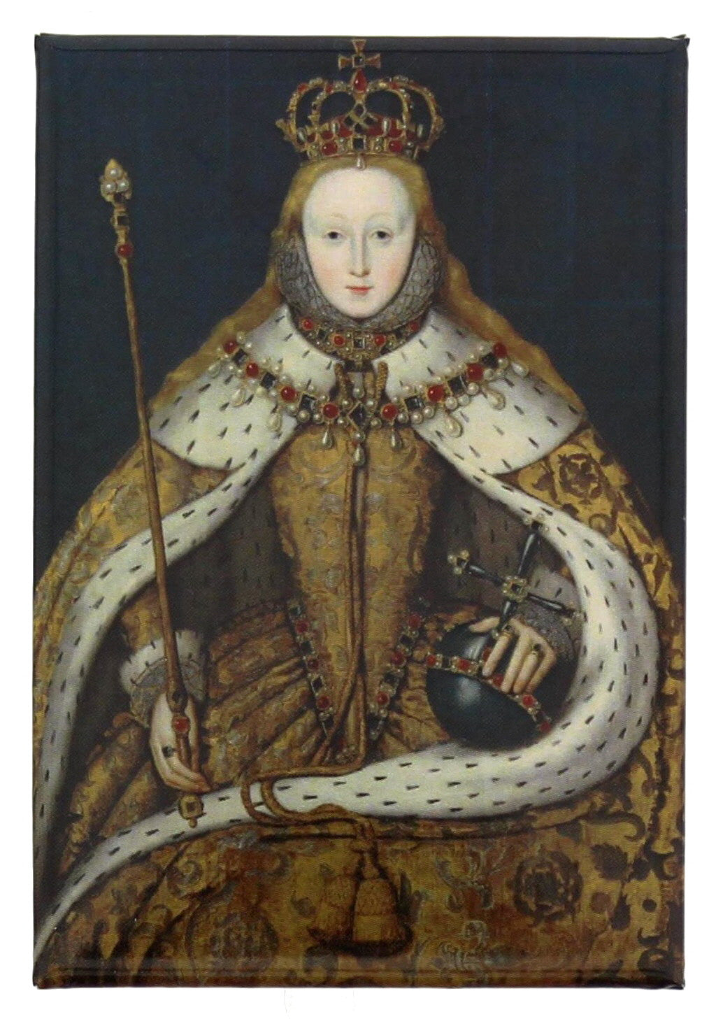 Queen Elizabeth I Fridge Magnet