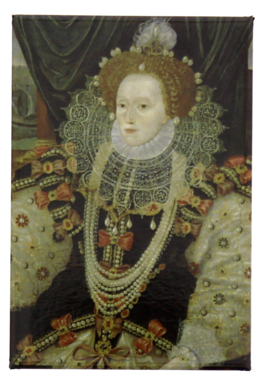 Elizabeth I NPG 541 Fridge Magnet