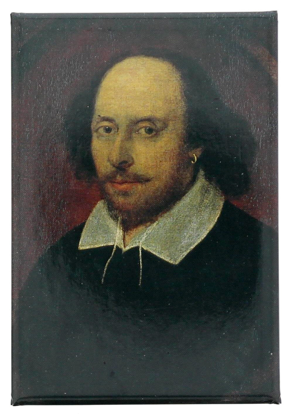 William Shakespeare Fridge Magnet