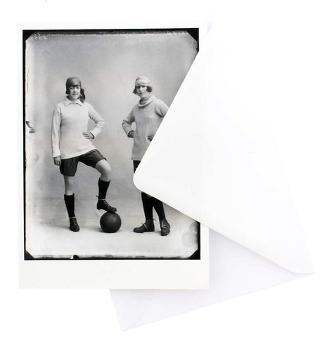 Marjorie and Dorothy Dolman Greetings Card