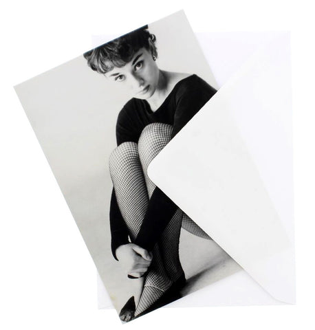 Audrey Hepburn Greetings Card