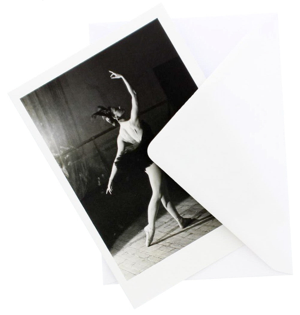 Maya Plisetskaya Greetings Card