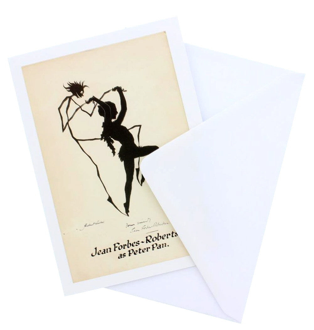 Jean Forbes-Robertson as Peter Pan Greetings Card