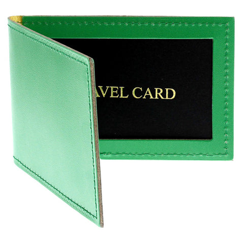NPG Monogram Green Cardholder