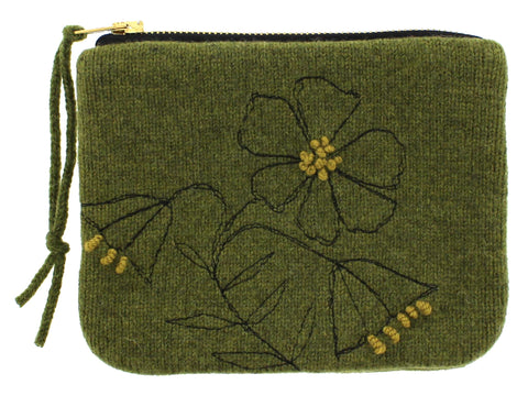 Knitted Merino Wool Purse