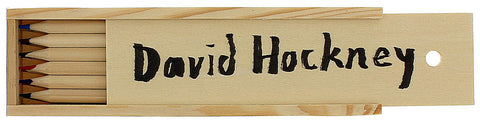 David Hockney Signature Pencil Box