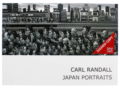 Carl Randall - Japan Portraits Paperback Signed